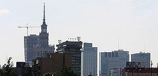Panorama Warszawy Pałac Kultury