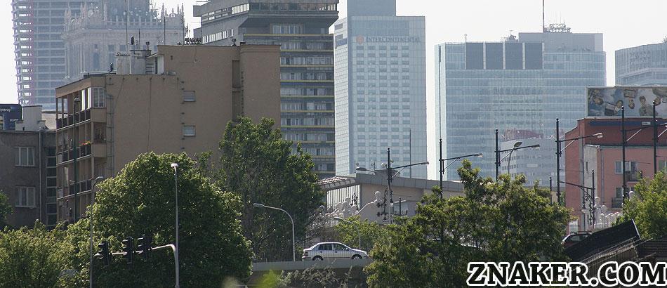 Warszawa Architektura Panorama