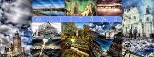 postcard warsaw poland warszawa
