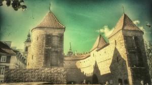 Barbakan Stare Miasto Warszawa