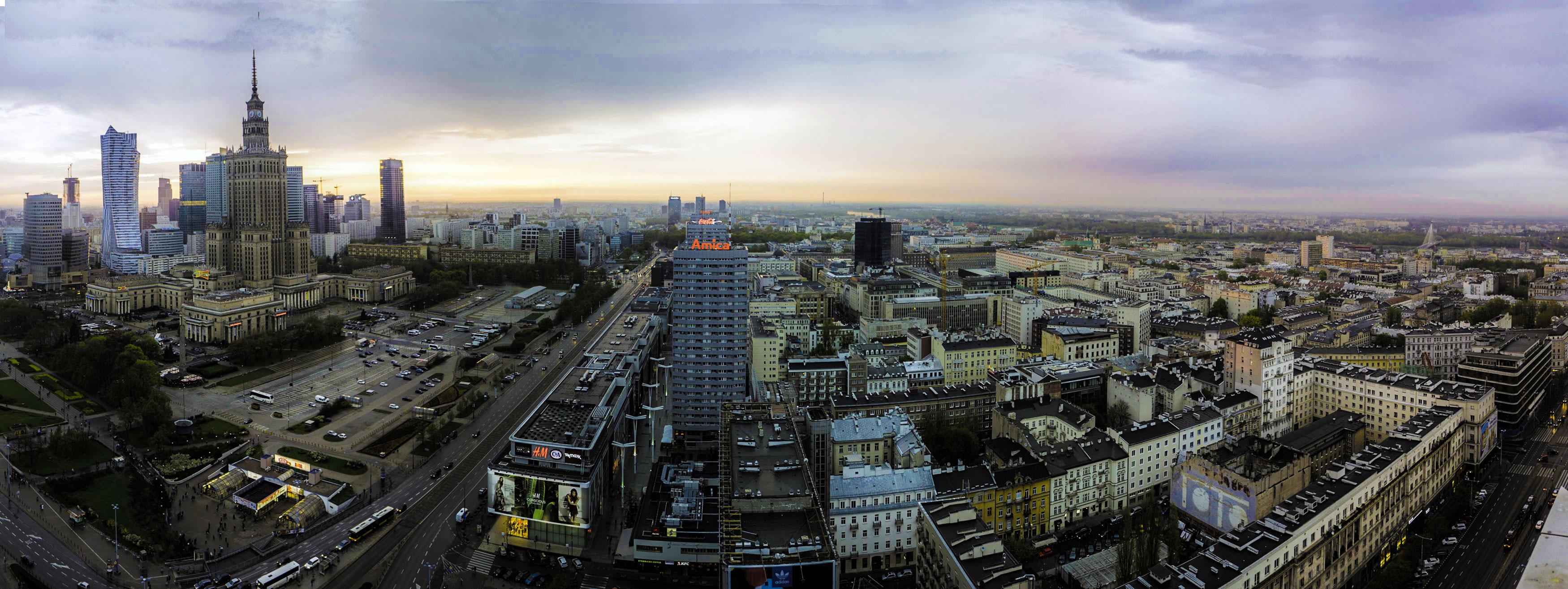 panorama warszawy Fotograf